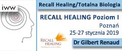 Recall Healing Poziom I 2019